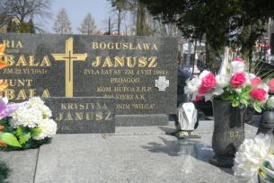 """Bogusława Janusz- dowodziła """"Szarymi Szeregami"""" w powiecie opatowskim (K)"""