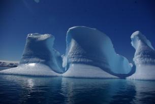 Odwrócona góra lodowa