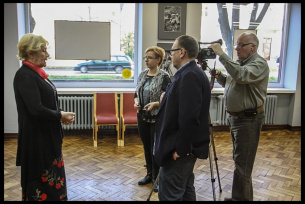 Teresa Lipowska w Galerii Fotografii MCK