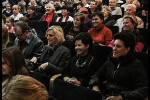 Widownia na spotkaniu z Teresą Lipowska