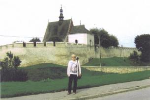 Szydłów- fragment średniowiecznych murów obronnych