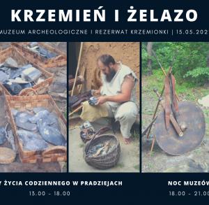 """""""Krzemień i żelazo"""" w Rezerwacie Krzemionki - spotkanie"""