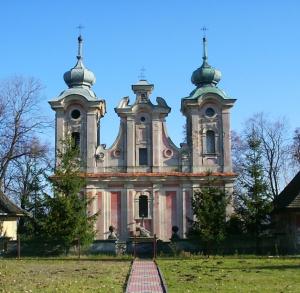 Kościół barokowy w Szewnie