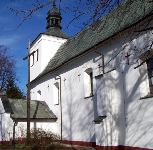 Kościół  św. Wojciecha w Mominie