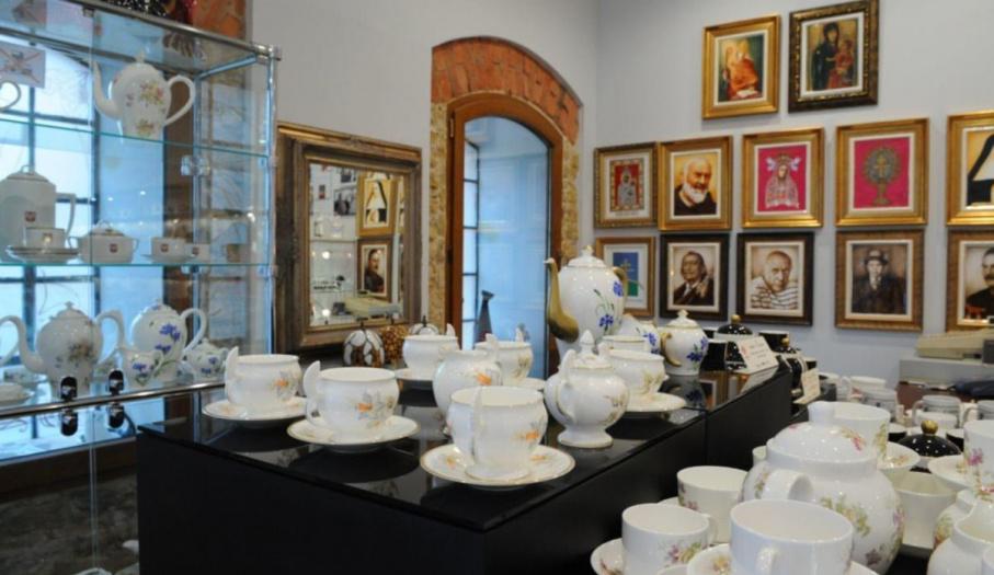 Ekspozycja porcelany