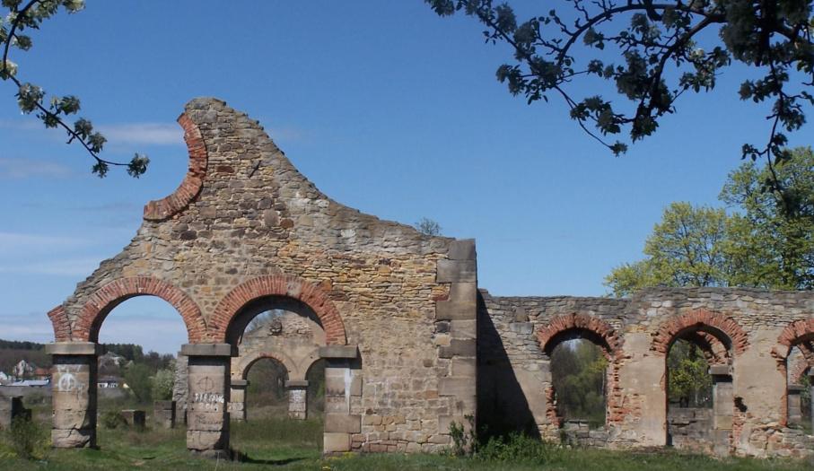 Ruiny starej walcowni