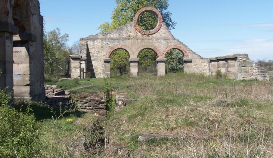 Ruiny starej wlcowni