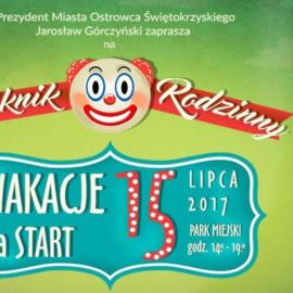 """""""Wakacje na start"""". Piknik rodzinny"""