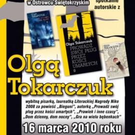 Spotkanie z Olgą Tokarczuk